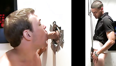 Two naughty boys engaged in dirty work - ungloryhole